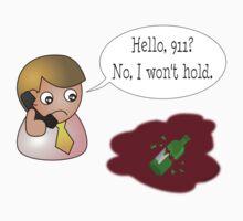 Hello, 911? No, I won't hold. Kids Clothes