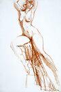 Stretching Figure by Stephen Gorton