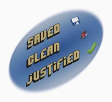 Saved, clean, justified. Kids Clothes