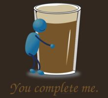 You complete me -- beer by pokingstick