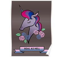 Bisexual unicorn Poster