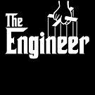 The Engineer T-Shirt by Linda Allan