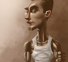"Greg ""IdrA"" Fields Professional Gamer Caricature by drumok"