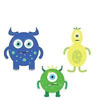 Monster Family! by bettyfoghorn