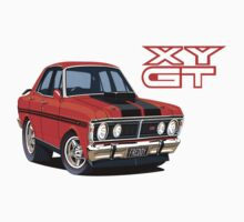 Ford Falcon XY GT HO Car toon, Freddy by UncleHenry