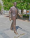 Ronald Reagan statue, Budapest, Hungary by Margaret  Hyde
