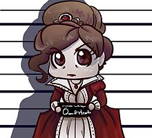 Queen of Hearts mugshot by Jeh-Leh-Loh