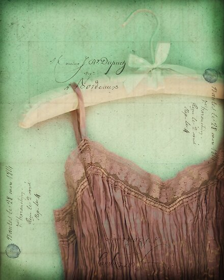 Linen & Lace I by Tia Allor-Bailey