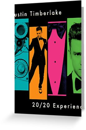 Justin Timberlake 20/20 Experience in Darker Colors by ArtOnMySleeve