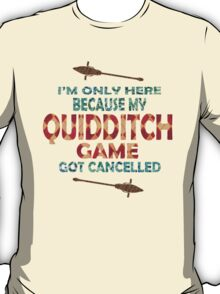 Rather Be At Quidditch T-Shirt