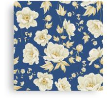 Design of vintage floral pattern  Canvas Print