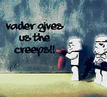 Vader gives us the creeps! by Tim Constable