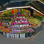 Fruit, Flower and Vegetable market, New York  by Margaret  Hyde