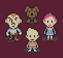 Mother 3 Crew by Studio Momo╰༼ ಠ益ಠ ༽