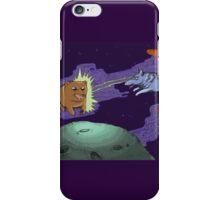 Space Wolf Runs Rampant iPhone Case/Skin