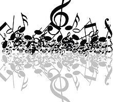 music notes  by AliLovesCats