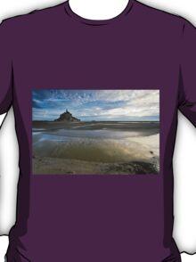 Bay of Le Mont St Michel T-Shirt