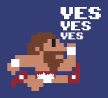 8-Bit YES Man by DarkMatchDuds