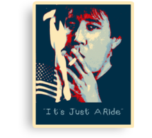 Bill Hicks - It's Just A Ride Canvas Print