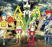 Pokémon + Shin Megami Tensei - Law Poster by NEZettel