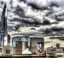 The Shard and South Bank by DavidHornchurch