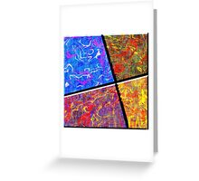 0580 Abstract Thought Greeting Card