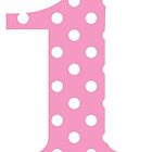 Pink Polka Dot One by BeachBumFamily