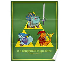 Hylian Squirtle Poster
