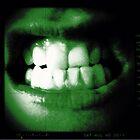 Zombie Bite by BevsDigitalArt