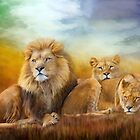 Serengeti Pride by Carol  Cavalaris