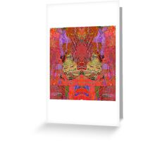 1074 Abstract Thought Greeting Card