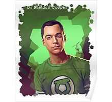 Dr. Sheldon Cooper from Big Bang theory Poster