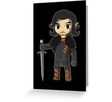 The Legend of Castle Black  Greeting Card