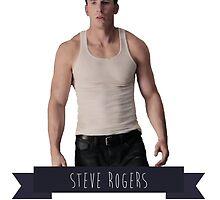 Steve Rogers by paigeherd