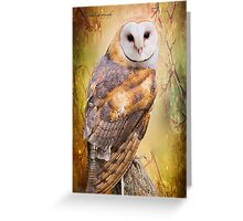 The Wise Owl Greeting Card