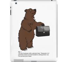 Don't Sit Down 'cos I've Moved Your Chair iPad Case/Skin