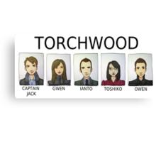 TORCHWOOD Canvas Print