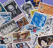 Postage Stamps by Schoolhouse62