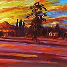 Morning Shadows at Blackbutt by Cary McAulay