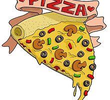 I love pizza by Bantambb