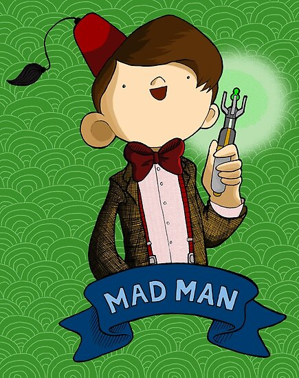 Mad Man 11th Doctor by Bantambb