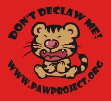 Don't Declaw Me - Tiger Tee Kids Clothes