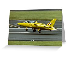 Folland Gnat T1 XR991/XS102 G-MOUR Greeting Card