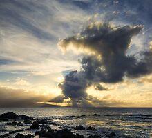 Maui's Smoking Sun by Michael Treloar