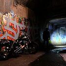 Tunnel Rider... by Jarrod Lees