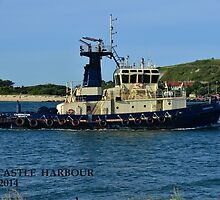 SVITZER TUG - CARRINGTON by Phil Woodman