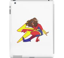Miss Marvel iPad Case/Skin