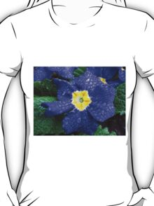 In every life some little rain must fall...Bluesy Primrose T-Shirt