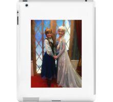 Anna & Elsa from Frozen iPad Case/Skin