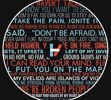 twenty one pilots - Lyrics Shirt by MicahJahns